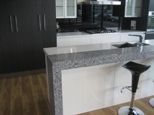 Engineered Stone Is A Composite Slab Stone Made Up Of Approximately 90%  Crushed Quartz Stone Bound Together By A Polymer Resin.