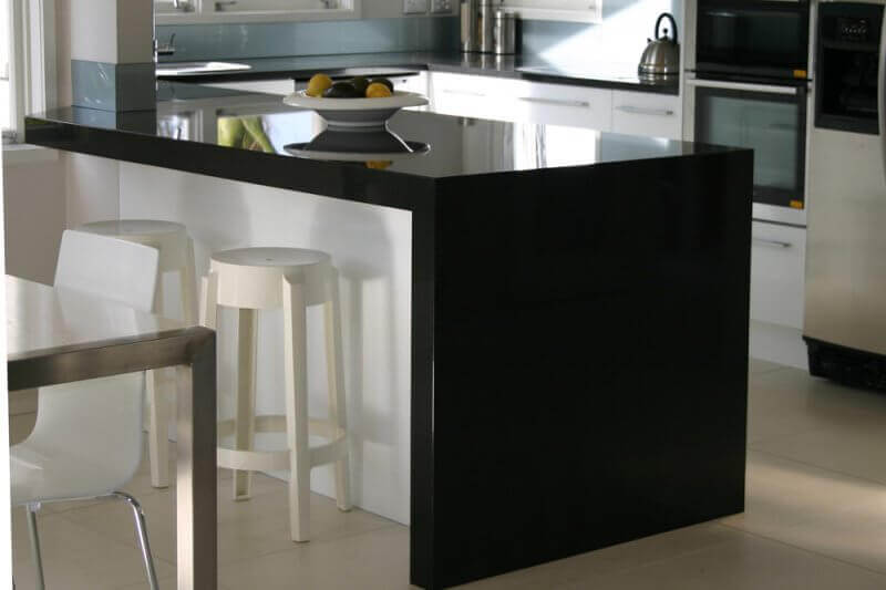 Natural Stone benchtops granite black
