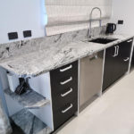 AGB Stone Granite Benchtop Viscount White