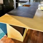 Steel and Dekton Ceramic Benchtop