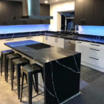 AGB Stone Silestone Nero Maquina Engineered Stone Benchtops